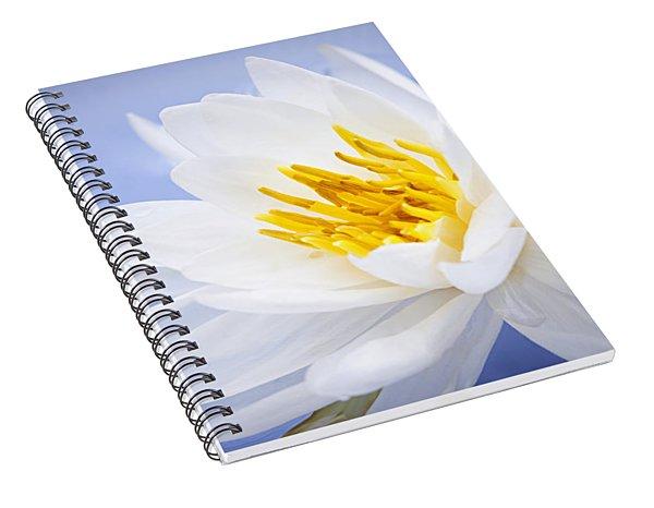 Lotus Flower Spiral Notebook