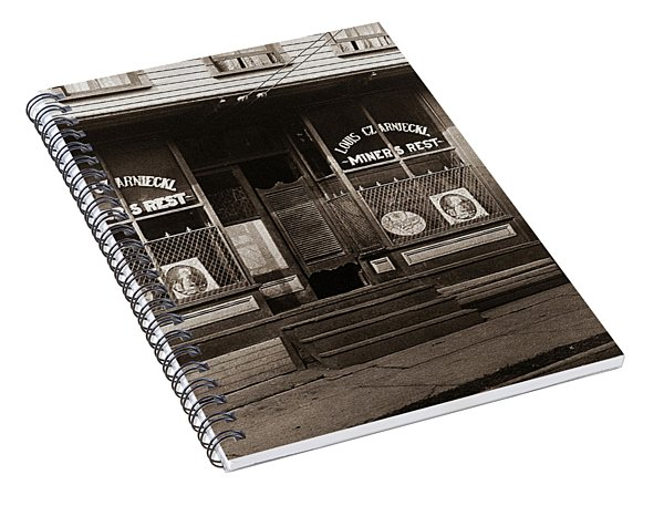 Louis Czarniecki Miners Rest 209 George Ave Parsons Pennsylvania Spiral Notebook