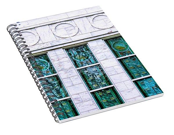Louisville Temple Details Spiral Notebook