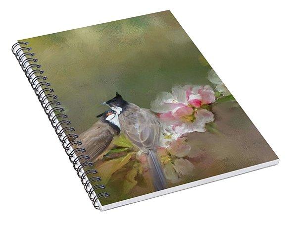 Love Couple Spiral Notebook