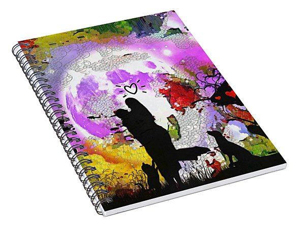 Love Family And Friendship In The Mix Spiral Notebook