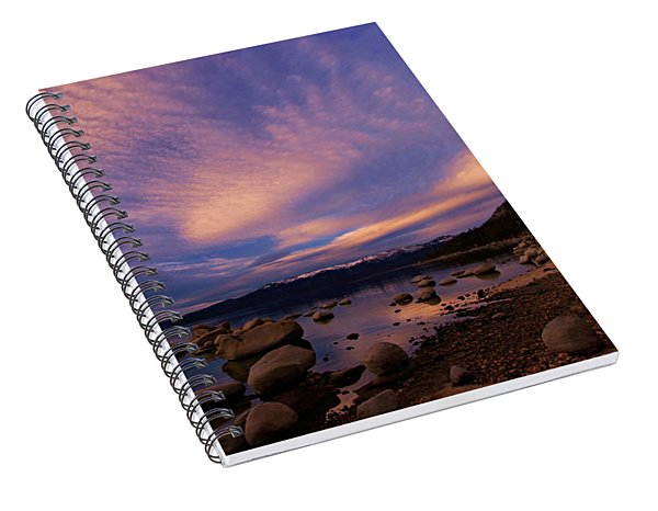 Love Is A Rocky Road Spiral Notebook