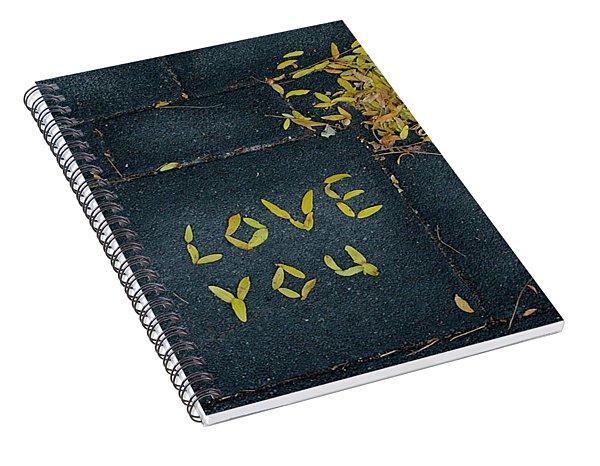 Love You Spiral Notebook