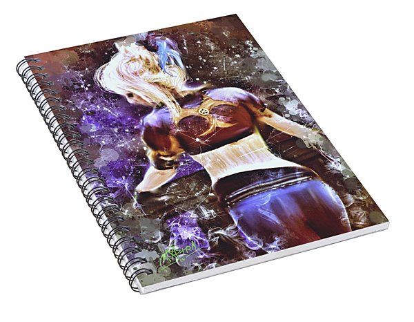 Lovely Night Spiral Notebook