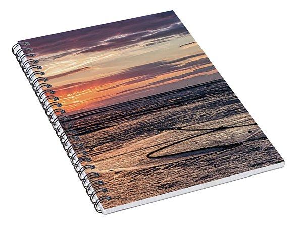 Low Tide, Thurstaston Spiral Notebook