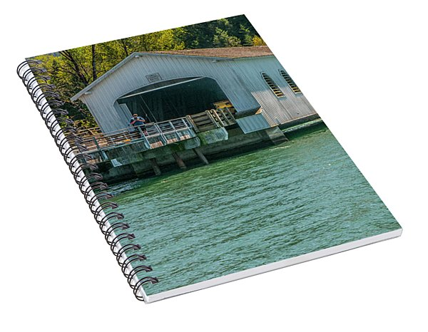 Lowell Covered Bridge Spiral Notebook