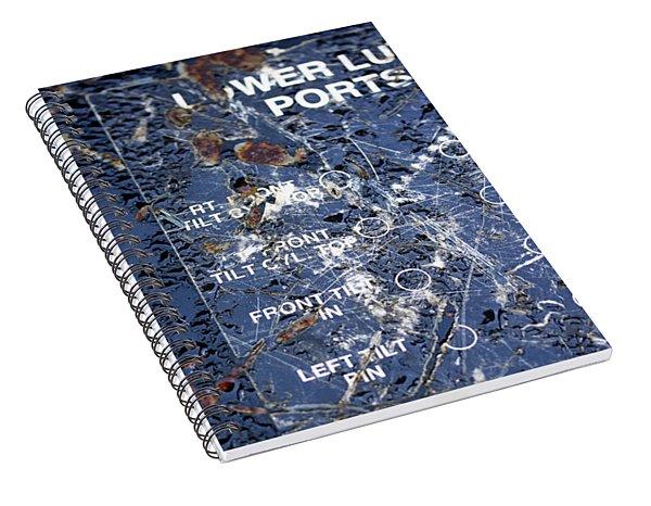 Lube Port Spiral Notebook