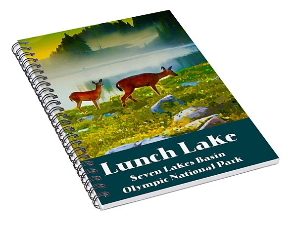 Lunch Lake Spiral Notebook