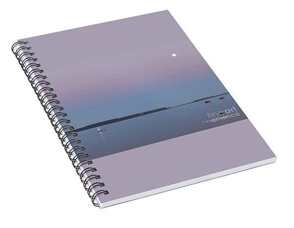 M Landscapes Collection No. L227 Spiral Notebook