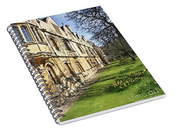 Magdalen College Oxford Spiral Notebook
