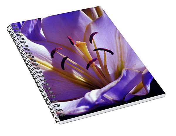 Magic Floral Poetry Spiral Notebook