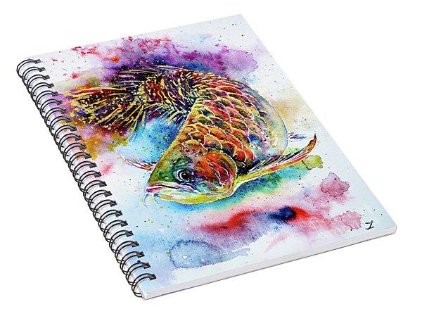 Magic Of Arowana Spiral Notebook