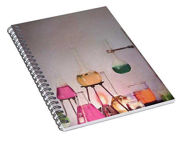 Magical Beakers Spiral Notebook