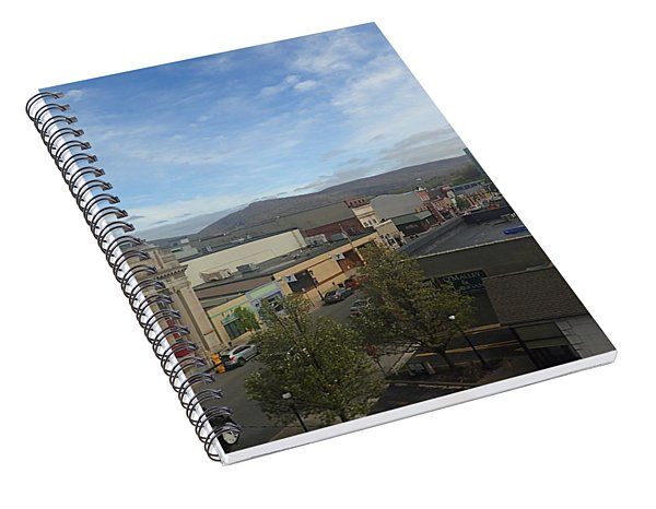 Main St To The Mountains   Spiral Notebook