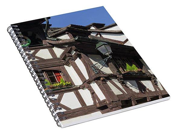 Maison Des Tanneurs Strasbourg France Spiral Notebook