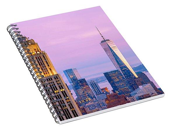Manhattan Romance Spiral Notebook