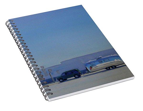 Marfa Texas Spiral Notebook