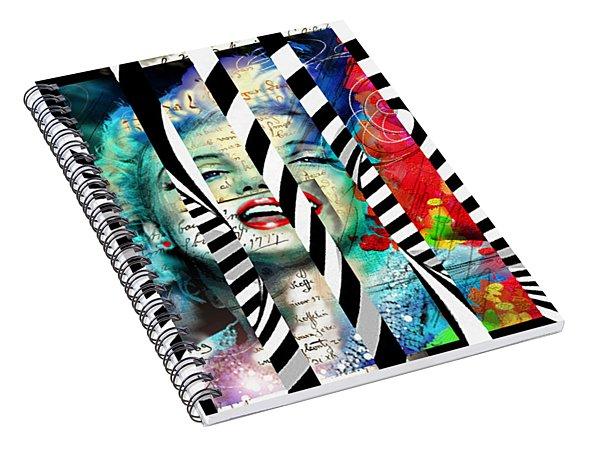 Marilyn Sis 1 Spiral Notebook