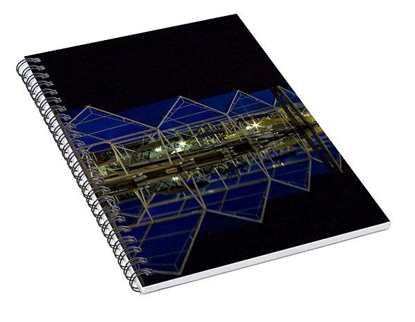 Marina Reflected Spiral Notebook