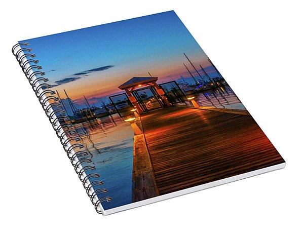 Marina Sunrise Spiral Notebook