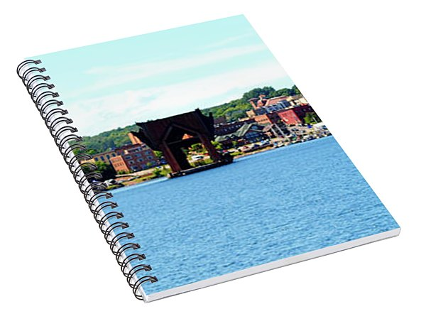 Marquette Michigan Harbor One Spiral Notebook