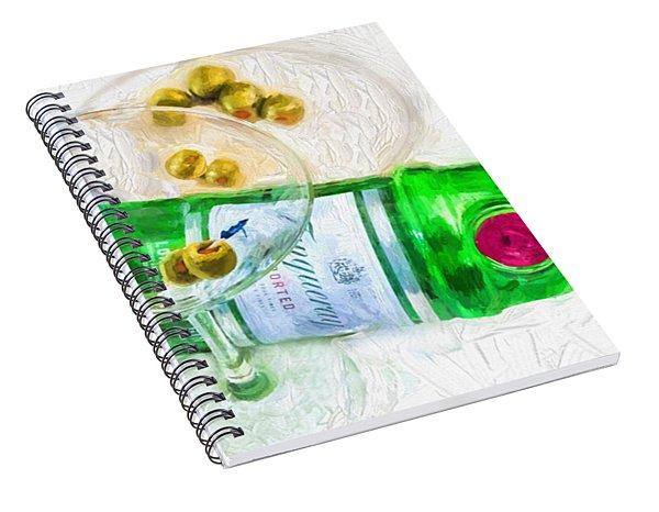 Martini Spiral Notebook