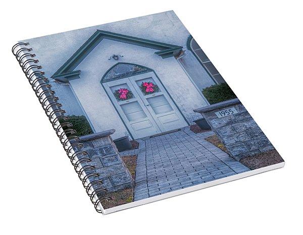 Marvin Chapel Spiral Notebook