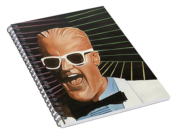 Max Headroom Spiral Notebook