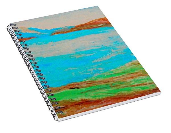 Medicine Lake Spiral Notebook