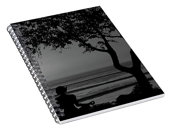 Meditative State Spiral Notebook