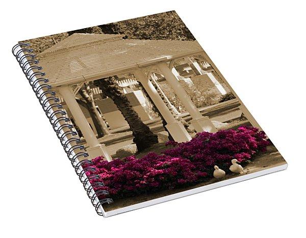 Meet Me At The Gazebo Spiral Notebook