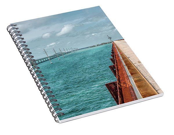 Memories Of The Overseas Railroad Spiral Notebook