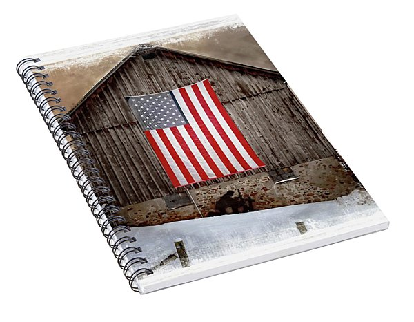 Merica II Spiral Notebook