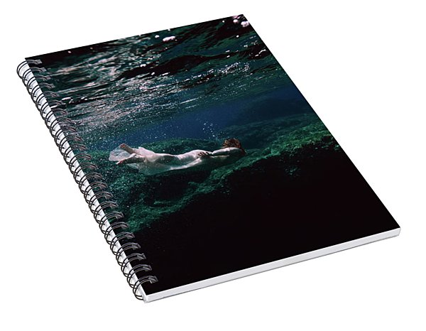 Mermaid Route Spiral Notebook