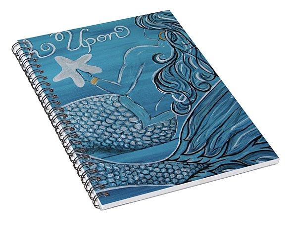Mermaid- Wish Upon A Starfish Spiral Notebook