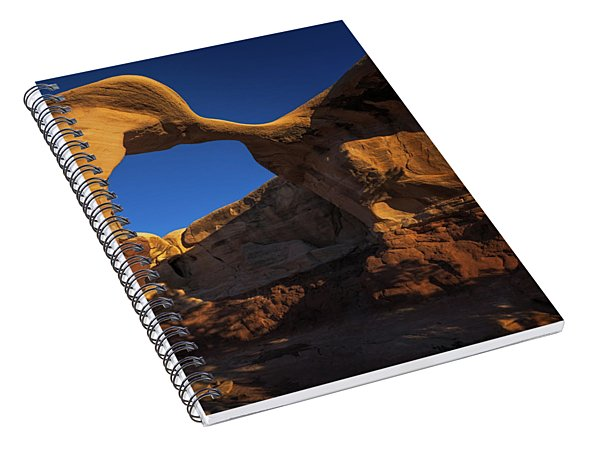 Metate Arch Spiral Notebook