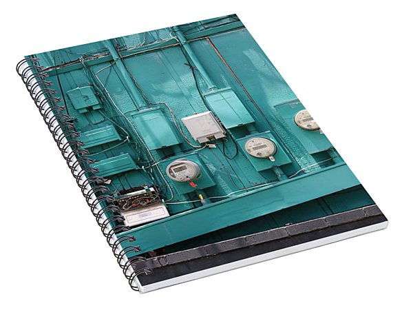 Meter Reader Spiral Notebook
