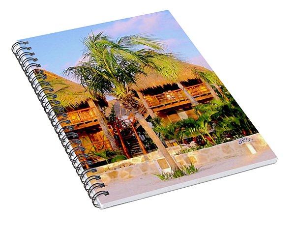 Mexican Cabanas Spiral Notebook
