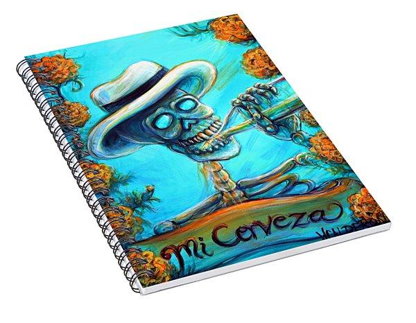 Mi Cerveza II Spiral Notebook