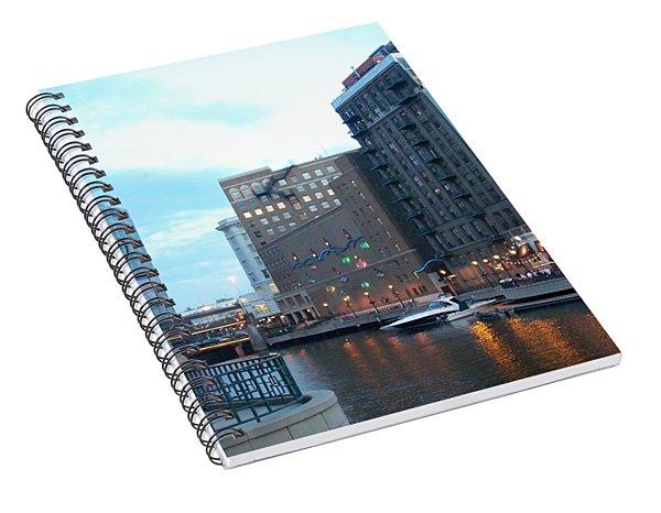 Milwaukee River Walk Spiral Notebook