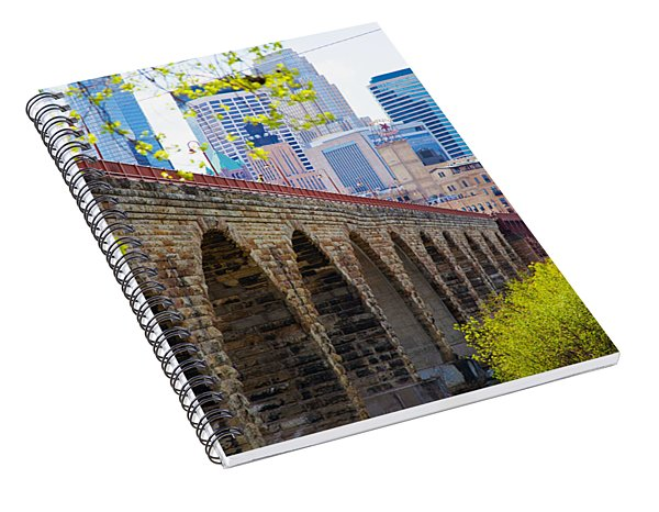Minneapolis Stone Arch Bridge Photography Seminar Spiral Notebook