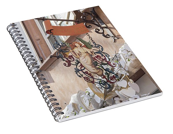 Mireille Oster Pain Depices Sign 01 Spiral Notebook