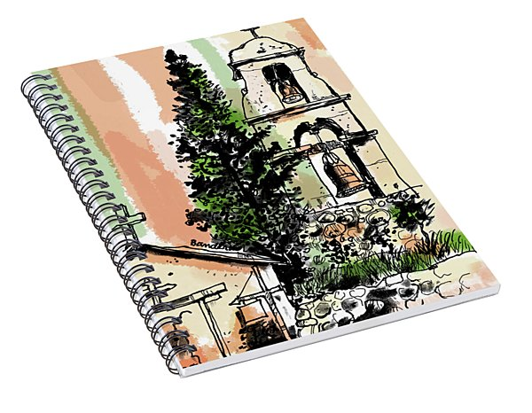 Mission San Antonio De Pala Spiral Notebook