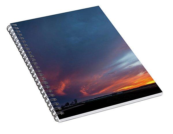 Missouri Sunset Spiral Notebook
