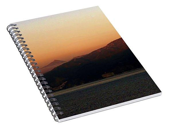 Misty Morning Catalina Island, California Usa Spiral Notebook