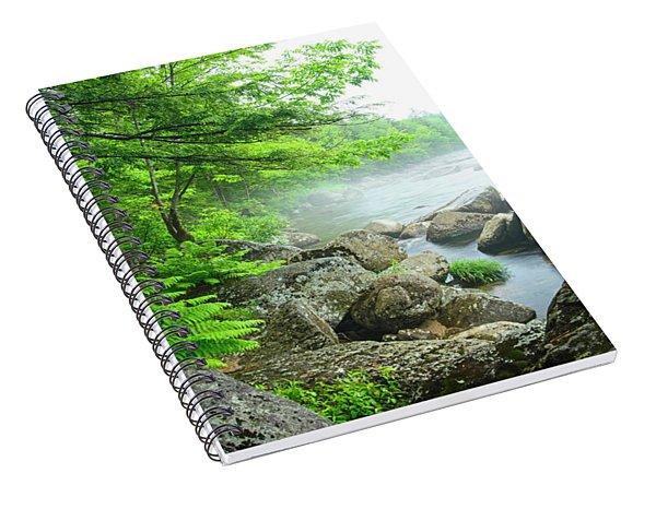 Misty Waters Spiral Notebook