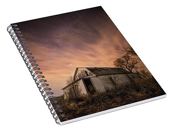 Mitchell White Barn  Spiral Notebook