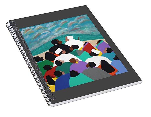 Mlk Called To Serve Spiral Notebook