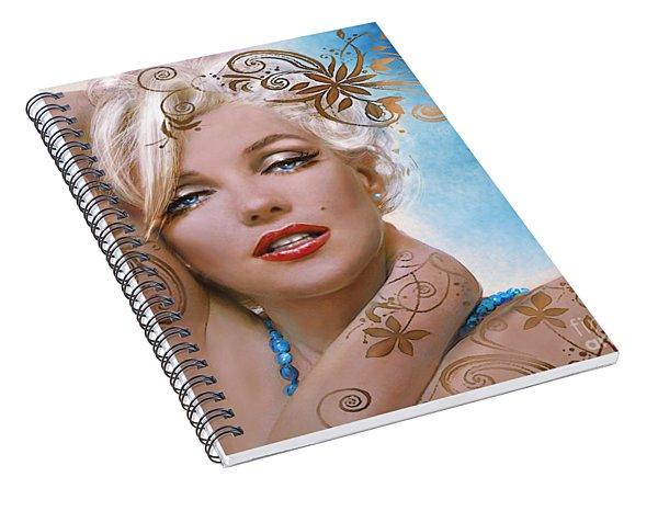 Mm 127 Deco Spiral Notebook