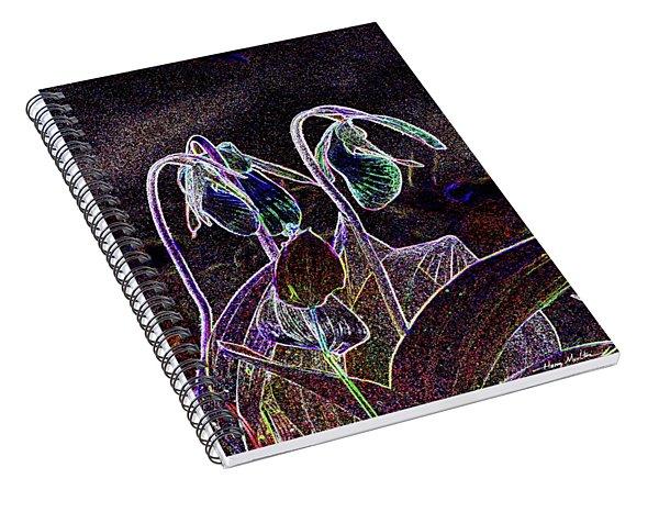 Moccasin Flower Spiral Notebook